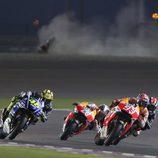 Arranque del GP de Catar de MotoGP
