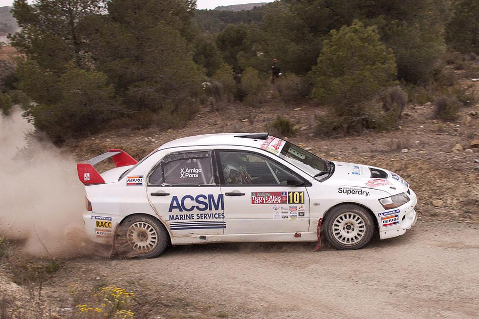 Xevi Pons - Xavier Amigo - III Rally Tierras Altas de Lorca