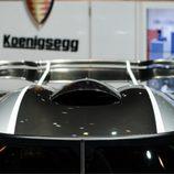 Koenigsegg One:1 - stand de ginebra 2014, toma de aire superior