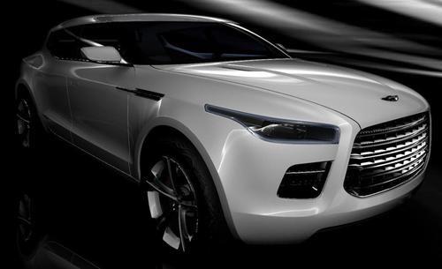Aston Martin Lagonda SUV Concept - primer plano