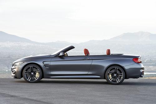 BMW M4 Convertible - perfil abierto