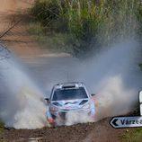 Juho Hänninen en el Rally de Portugal