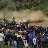 Miles de aficionados acudieron al Rally de Portugal