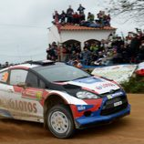Robert Kubica en la primera etapa en Portugal