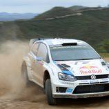 Sebastien Ogier en la tercera etapa del rally