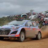 Dani Sordo en la segunda etapa del Rally de Portugal