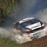 Jari Ketomaa, segundo clasificado en WRC2 en Portugal