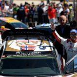 Mads Ostberg, tercero en el Rally de Portugal