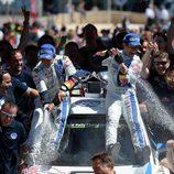 Sebastien Ogier ganador del Rally de Portugal