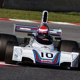 Brabham BT42 con los colores de Martini
