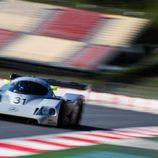 El Mercedes C11 a toda velocidad