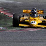 Fittipaldi F8, del equipo fundado por los hermanos Fittipaldi.