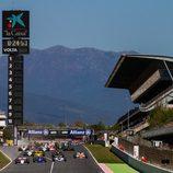 Salida de la segunda carrera FIA Masters Historic Formula One