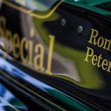 Detalles del coche de Ronnie Peterson
