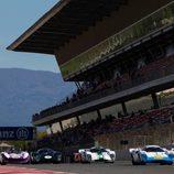 Salida del FIA Masters Historic Sports Car Championship