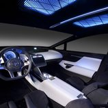 Toyota NS 4 concept 2012 - habitáculo