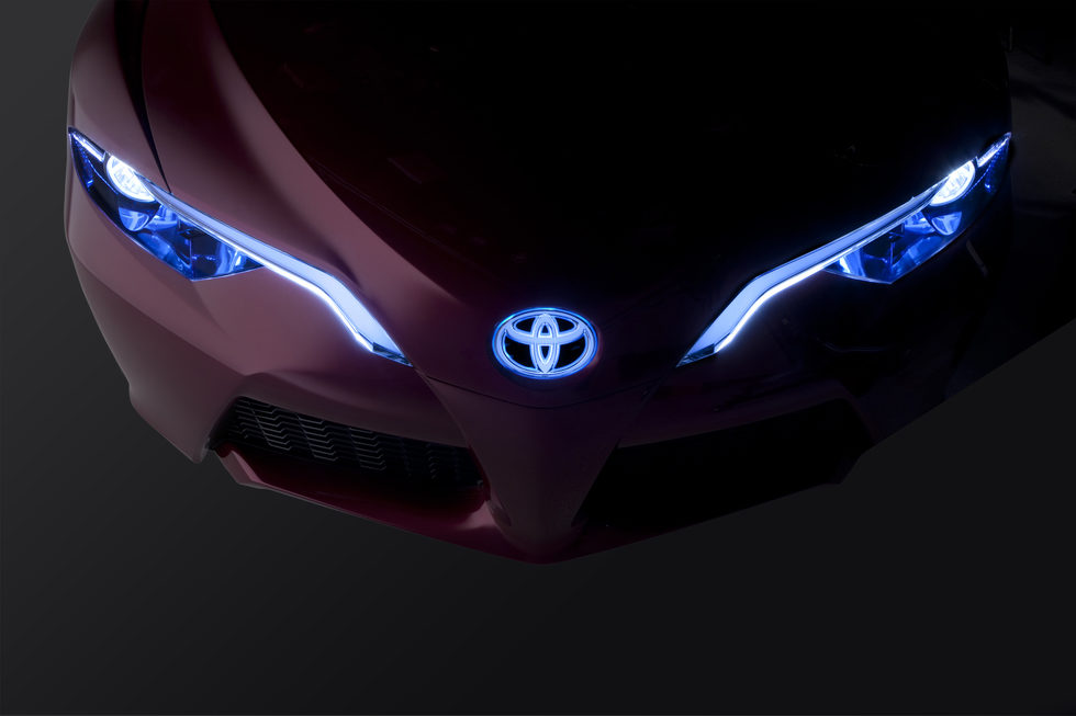 Toyota NS 4 concept 2012 - frontal