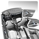 Bocetos del nuevo concept de Audi - interior