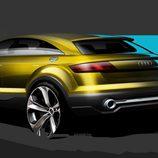 Bocetos del nuevo concept de Audi - trasera
