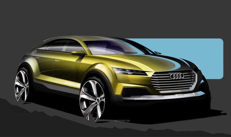 Bocetos del nuevo concept de Audi