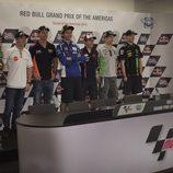 Rueda de prensa oficial GP de las Américas 2014