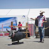 Stefan Bradl de 'rodeo' en Austin