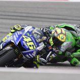 Valentino Rossi mejor piloto Yamaha en el COTA