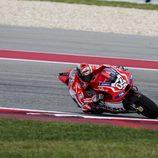 Andrea Dovizioso en la Q2 de Austin