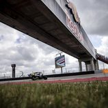 Valentino Rossi disputando la Q2 en Austin
