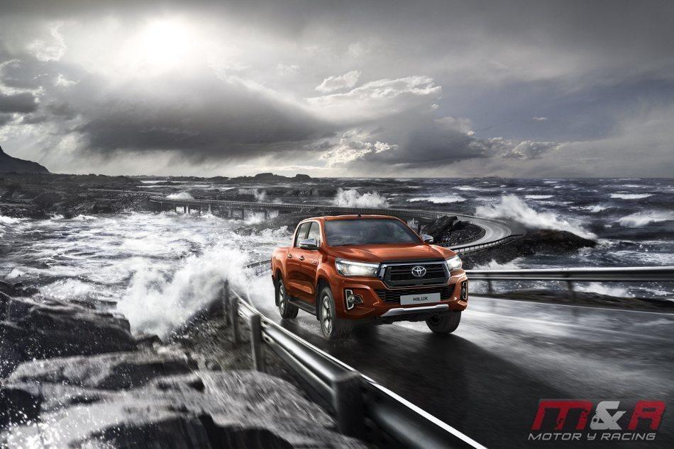 La Toyota Hilux Legend 2018, el tope de la gama