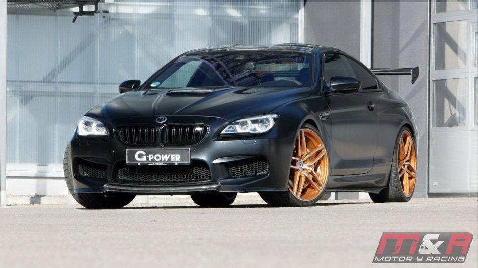 G-Power sintoniza el BMW M6