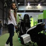 S01 el scooter eléctrico de Silence