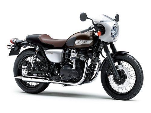 Regresa la Kawasaki W800 Café