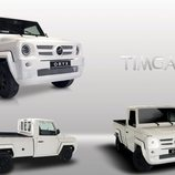 Oryx Motors presenta el Timgad Pick Up