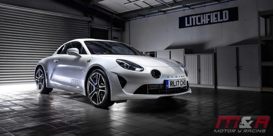 Litchfield aumenta la potencia del Alpine A110