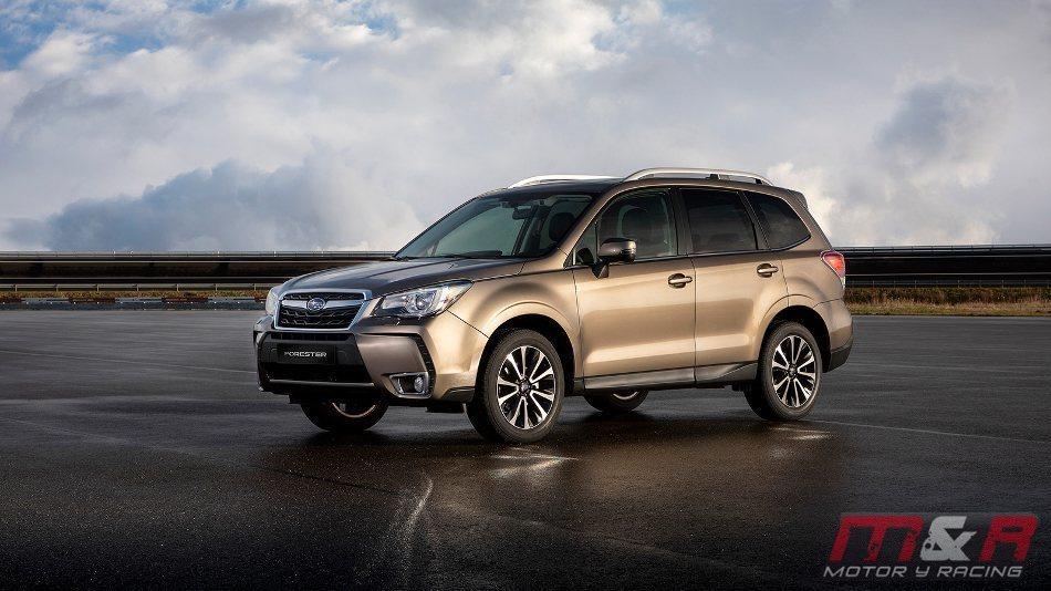 Subaru actualiza el Forester para 2019