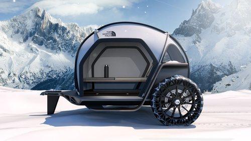 BMW y The North Face diseñan nueva carpa móvil