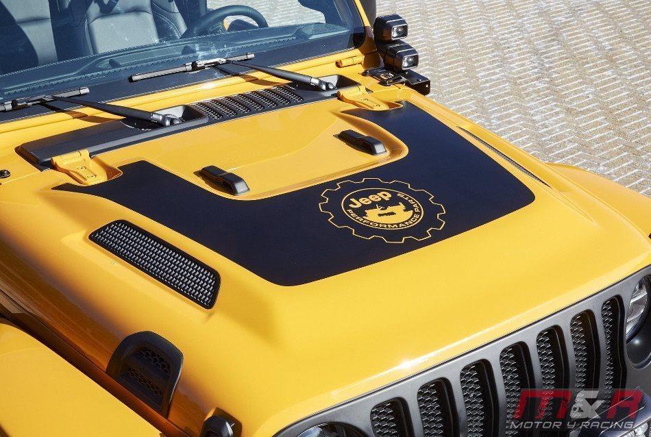 Jeep mostró un impresionante Nacho Concept