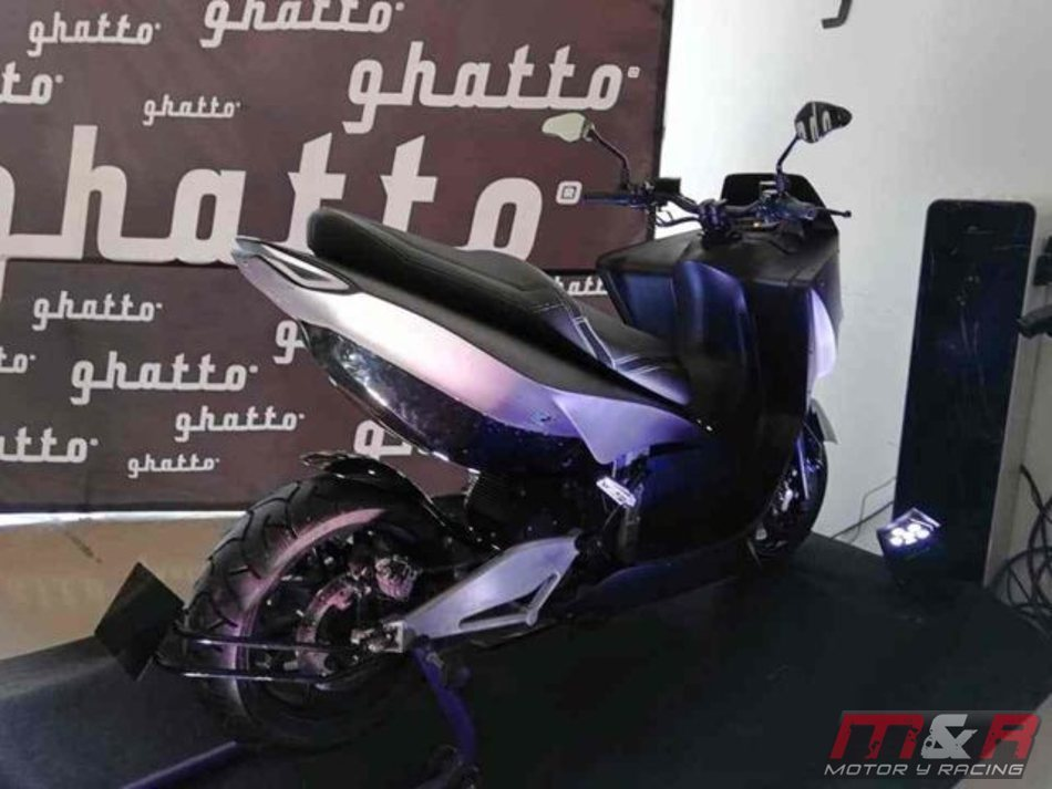 Así es la nueva moto eléctrica Ghatto G1