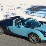 Bugatti Veyron Jean Pierre Wimille - expo