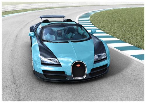 Bugatti Veyron Jean Pierre Wimille - frontal