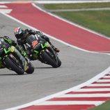 Pol Espargaro vs Bradley Smith en Texas