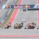 Salida de MotoGP en el GP de las Américas