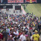 Invasión de pista tras acabar el GP de las Américas