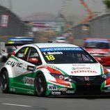 Tiago Monteiro único piloto de Honda en Marrakech
