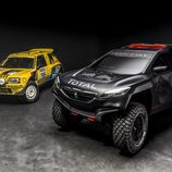 Pasado y presente de Peugeot en el Dakar