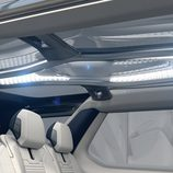 Land Rover Discovery Vision Concept - interior