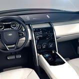 Land Rover Discovery Vision Concept - salpicadero