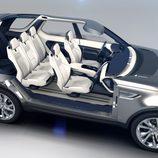 Land Rover Discovery Vision Concept - radiografía