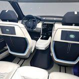 Land Rover Discovery Vision Concept - butacas delanteras